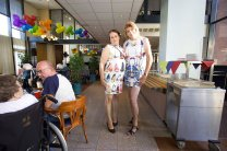 Onze medewerksters van het eerste uur, Adrie van Diemen (arts) en Nicky de Boer